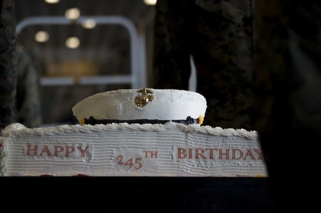 15th MEU, Makin Island Amphibious Ready Group celebrate 245th Marine Corps birthday