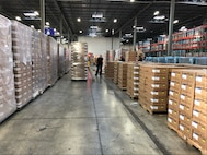 Phot of kits in warehouse