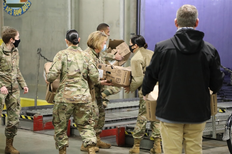 Local Air Force Association Chapter delivers turkeys to Reserve Citizen Airmen