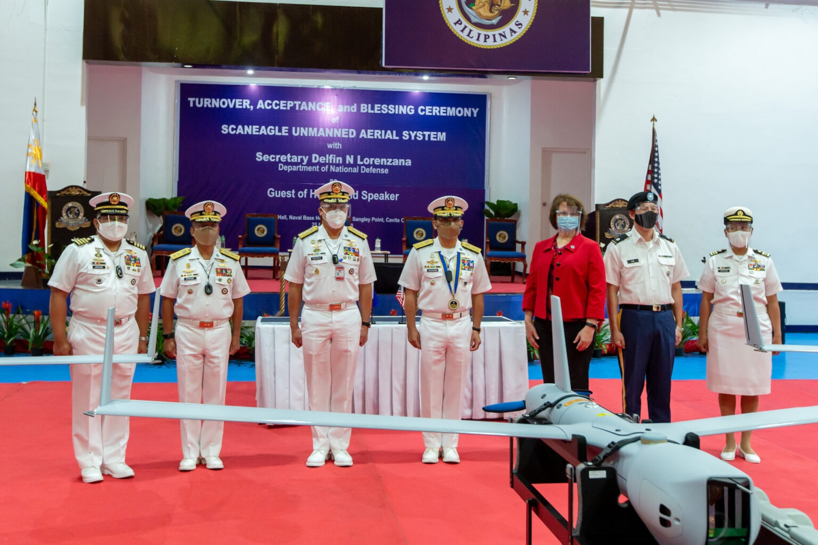 U.S. Military Delivers Advanced Unmanned Aerial System to Philippine Navy