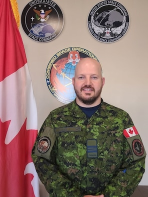 Photo of Royal Canadian Air Force Officer Major Michael Lang