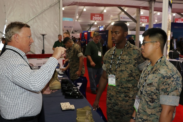Virtual military expo focuses on supporting future Marine