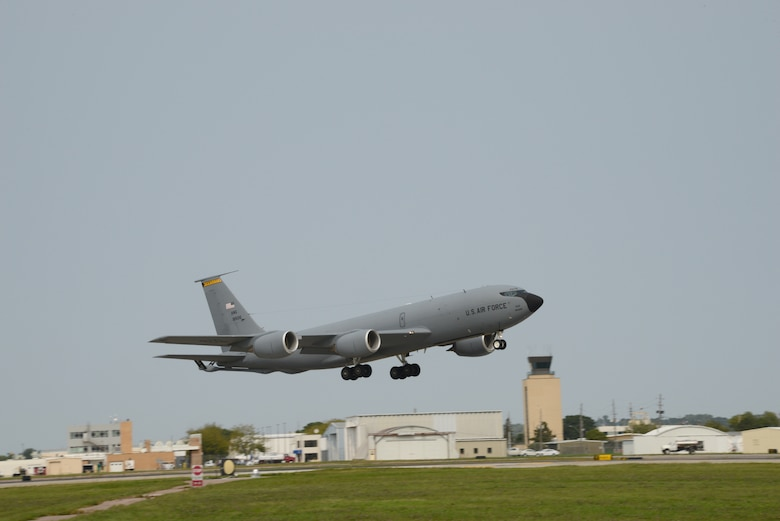 Air National Guard flight line in Sioux CIty on September 17, 2020.