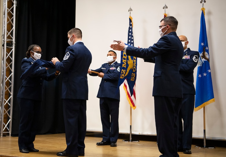 The ceremony re-designated the 52nd Aerospace Medicine Squadron as the 52nd Operational Medical Readiness Squadron
