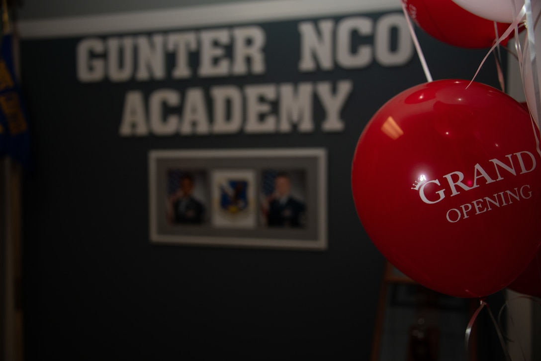 Balloons at the ribbon-cutting ceremony.