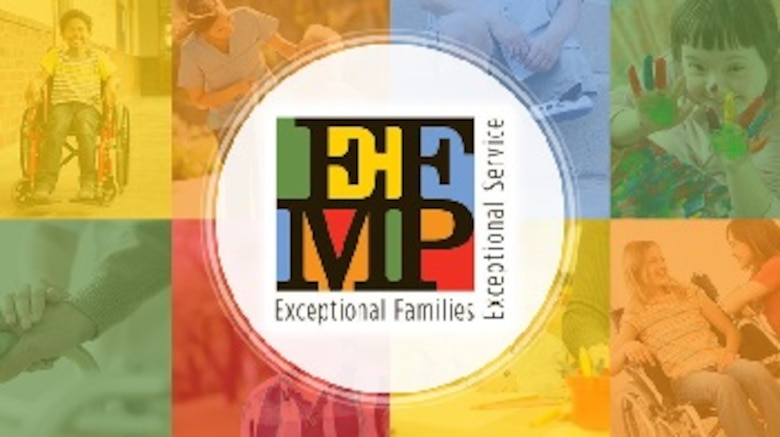 The Exceptional Family Member Program is an all-encompassing program that works with military and civilian agencies to provide comprehensive and coordinated community support, housing educational and medical services for civilians, Air Force Reserve, Air National Guard, retirees, and contractors. (Courtesy Graphic)