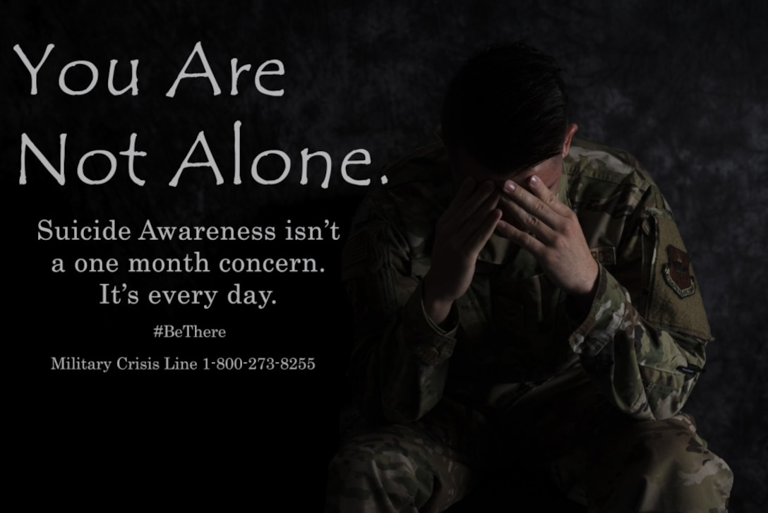 Suicide prevention poster.
