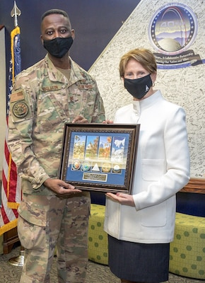 SECAF visits NRO in Colorado
