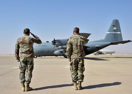 AFCENT commander visits Prince Sultan Air Base