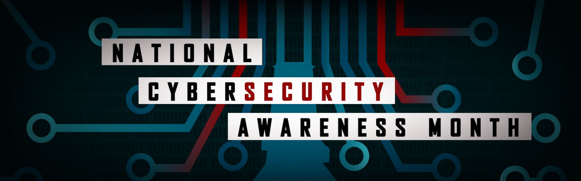 National Cybersecurity Awareness Month Homepage Banner
