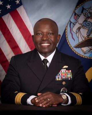 RDML Cedric Pringle, 31 Commandant, NWC