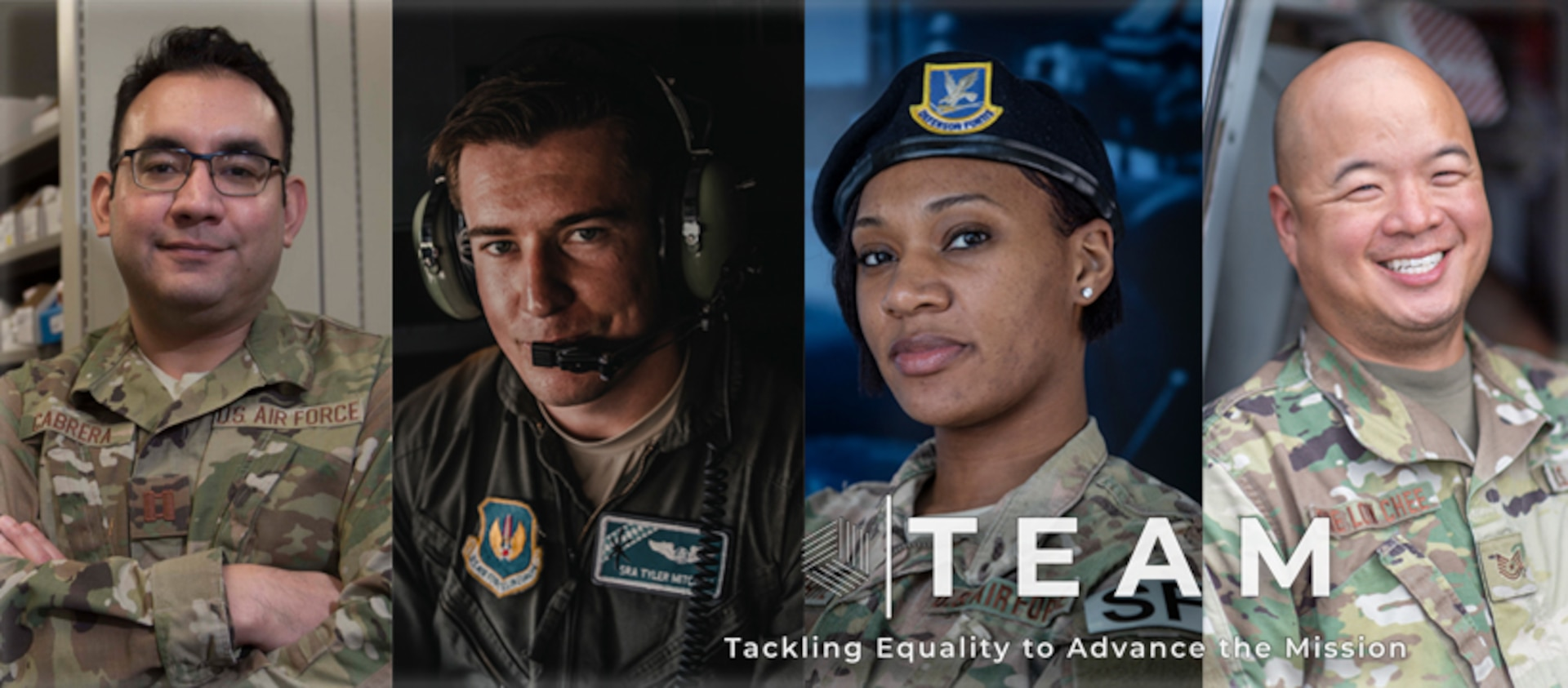 Tackling Equality to Advance the Mission, or TEAM, is a new Air Force Recruiting Service initiative with the goal to provide a platform for Airmen throughout AFRS to identify issues of inequality or bias in programs, policies, or procedures and present solutions for senior leadership action.