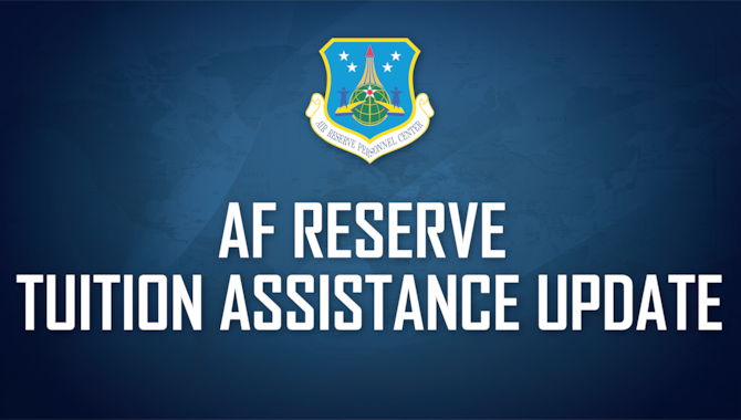 Department of the Air Force officials recently announced a reduction in tuition assistance benefits from $4,500 to $3,750 per fiscal year. This change, however, applies only to the military tuition assistance program (MilTA) and does not impact the Reserve tuition assistance program (ResTA).