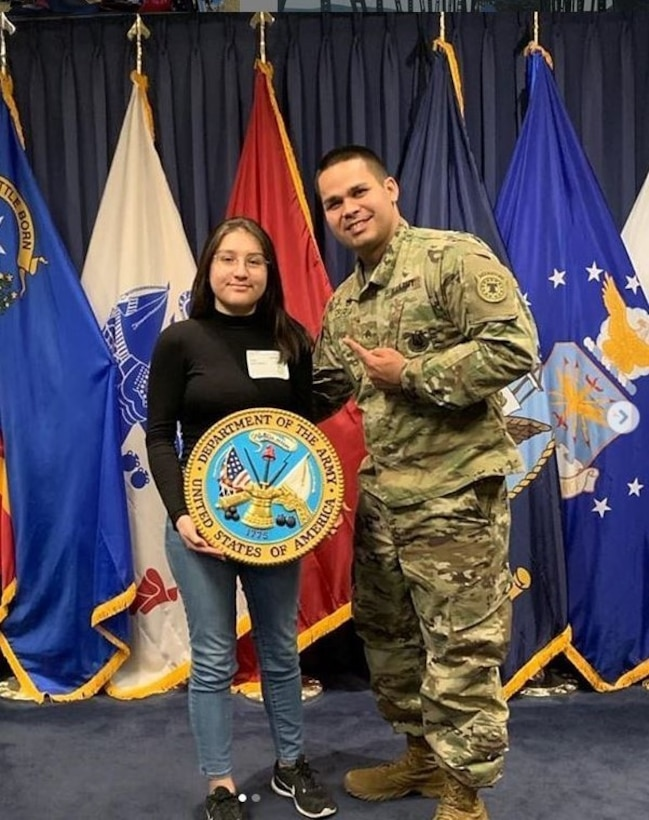 Puerto Rican Army Reserve recruiter follows in father's footsteps