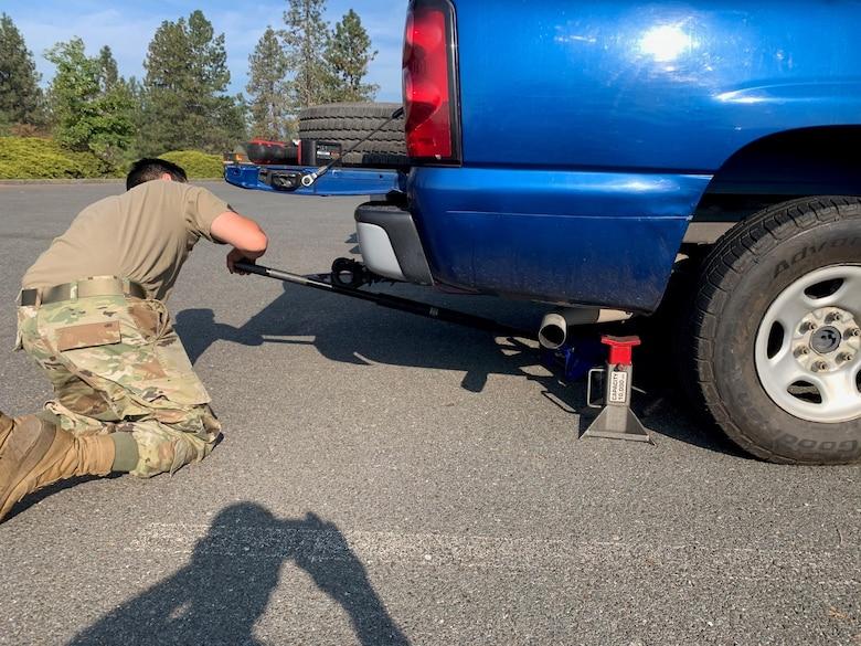 173rd FW Vehicle Maintenance