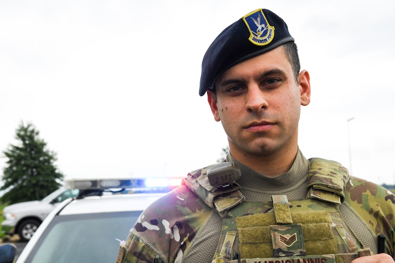 To Serve and Protect: From Greek soldier to U.S. Airman