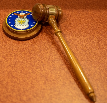 A gavel used during trials