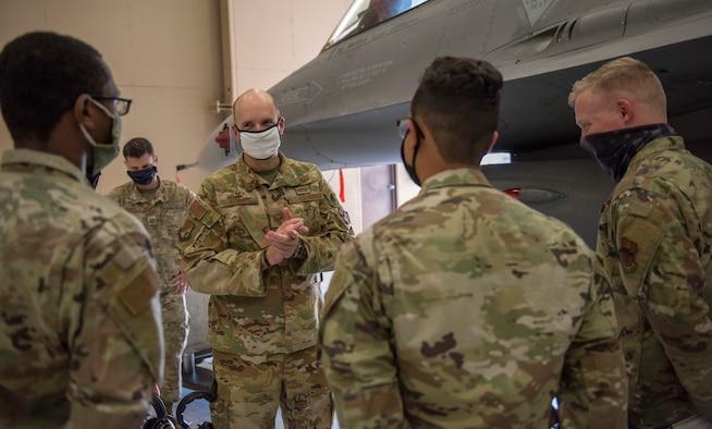 49th Wing leadership visits 372nd TRS Det 10