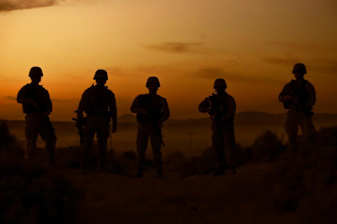 U.S. Marines participate in ITX 1-21 at Marine Air Ground Combat Center Twentynine Palms, Calif., Oct. 5.