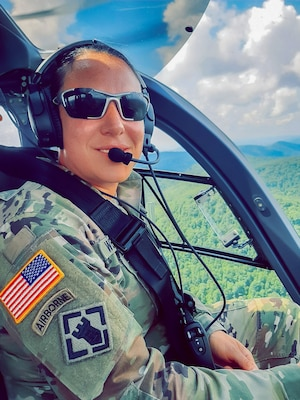 Sgt. 1st Class Laurie Janet Churchill Wentworth, Flight Operations NCOIC with Detachment 1, Company B, 1-224th Security and Support Aviation Battalion, selected as the West Virginia National Guard's Soldier Spotlight for October, 2020. (Courtesy photo)