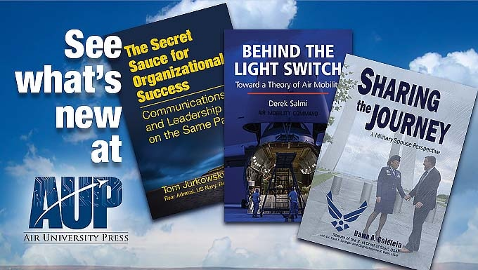 Image advertising three new AUP books
