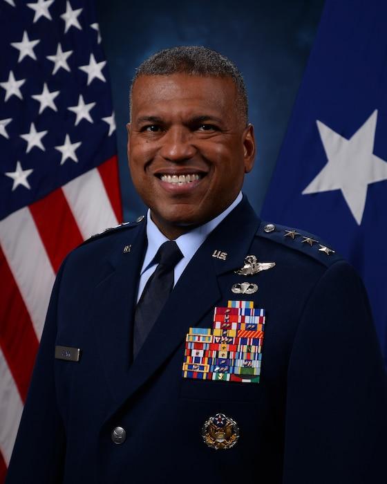 This is the official portrait of Lt. Gen. Richard M. Clark.
