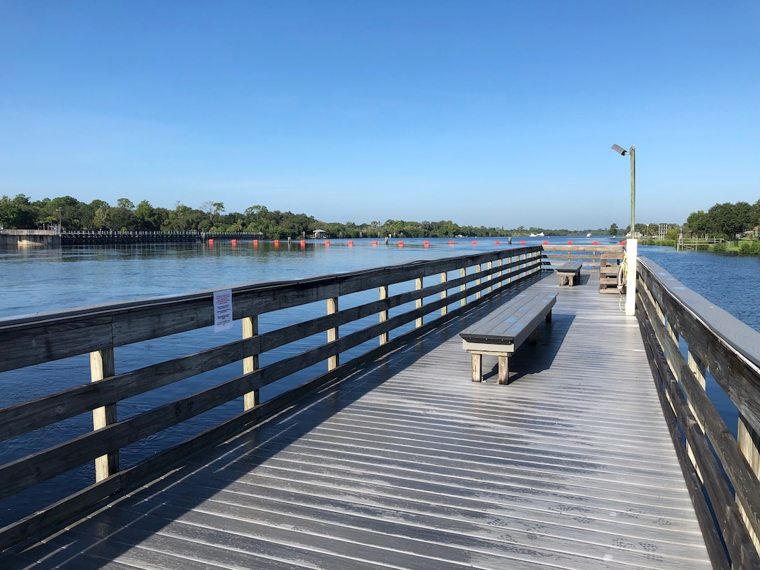 W.P. Franklin North fishing pier has reopened