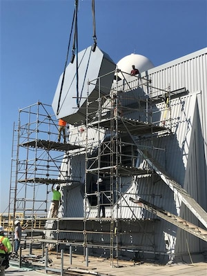 The U.S. Navy accepted delivery of the Navy's AN/SPY-6(V)1 Air and Missile Defense Radar System at land-based test site Combat Systems Engineering Development Site (CSEDS) in