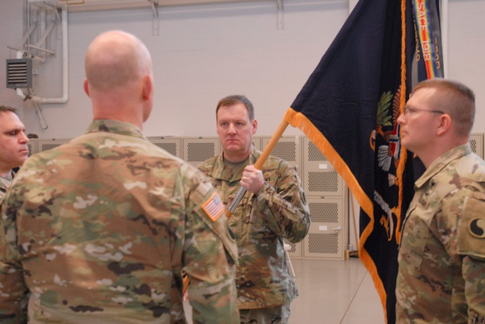 Training, combat readiness take center stage in change of command ceremony