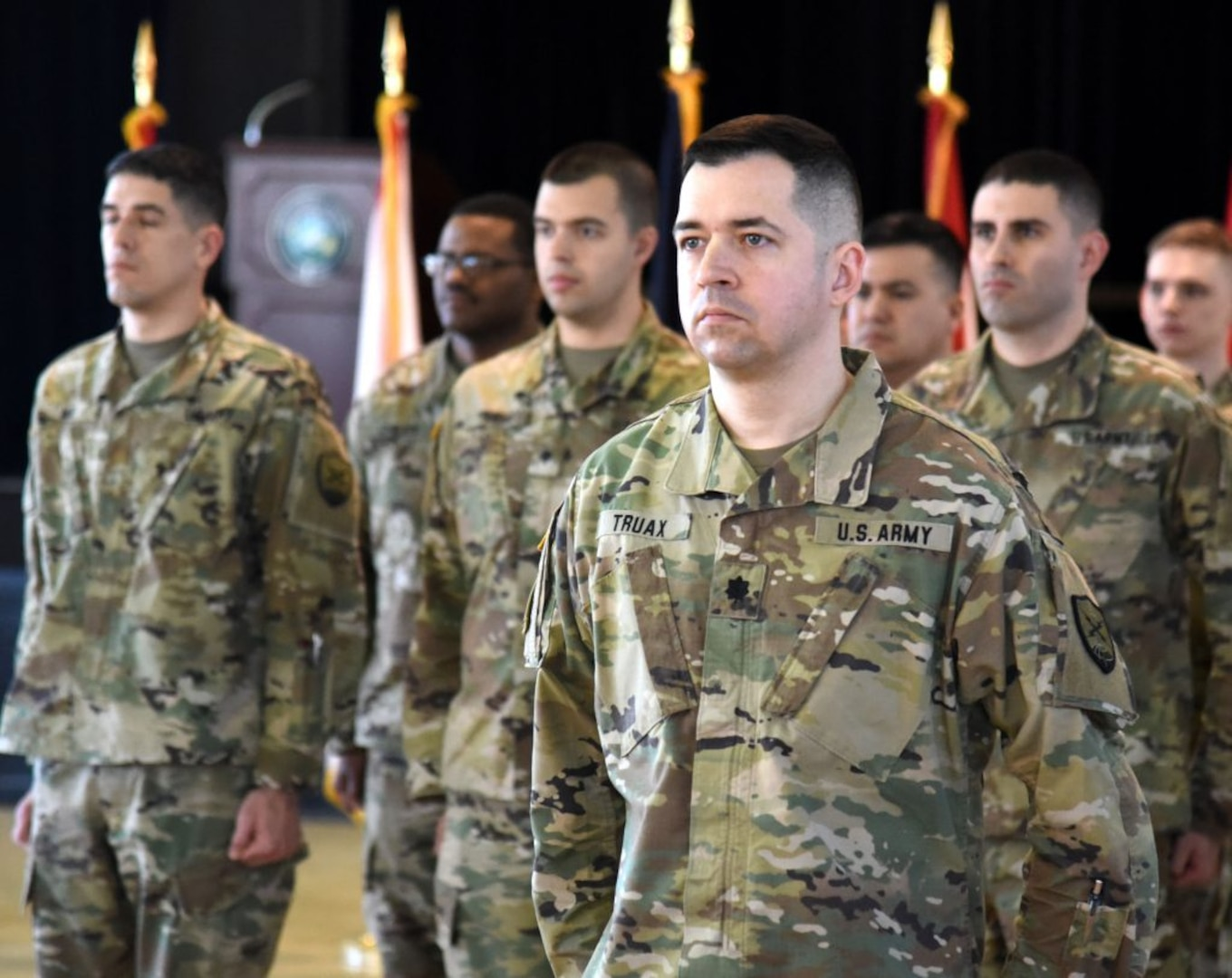 VNG's 124th Cyber Protection Battalion takes charge of Task Force Echo