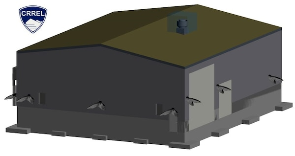 The new Climatic Chamber Building will serve as a Material Evaluation Facility. Completion of this facility will provide a critical means to examine extreme cold weather environments under test conditions necessary to develop and validate Army field materiel which is required for soldier and unit readiness.