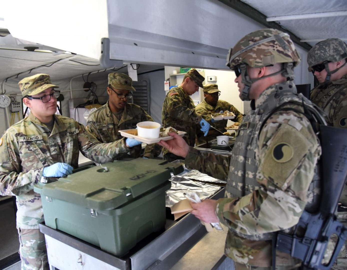 429th BSB competes for national food service award