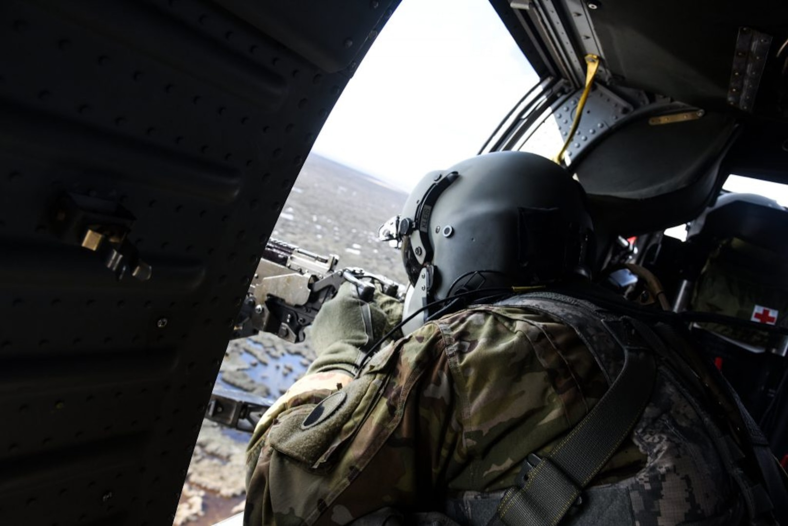 VNG aviation battalion conducts aerial gunnery in N.C.