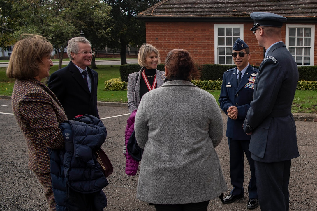 High Sheriff meets with Team Mildenhall
