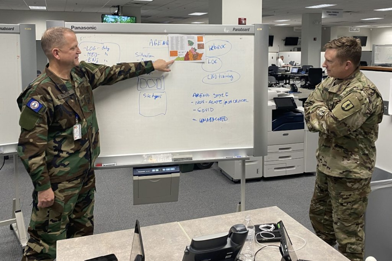 Va. Defense Force assisting with COVID-19 response