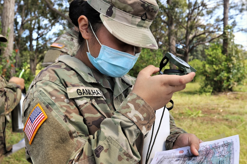 Team Signal Cyber hones land navigation skills on Hawaii