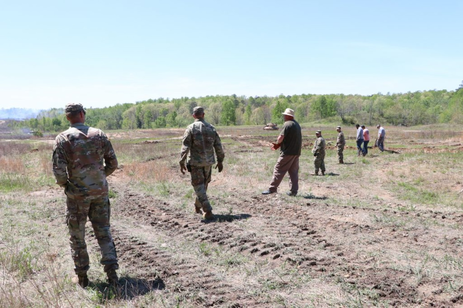 MTC Fort Pickett full steam ahead with range maintenance projects