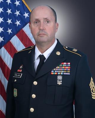 State Command Sgt. Maj. William H. Ferland