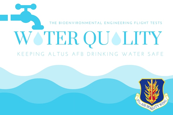 Altus AFB water quality graphic.