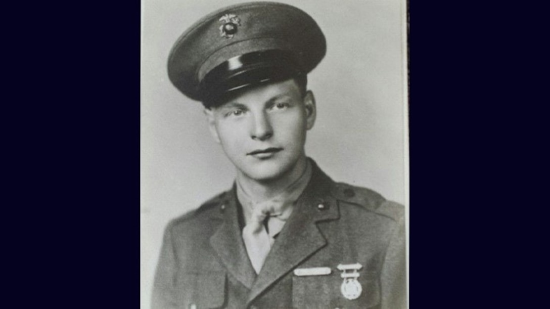 U.S. Marine Corps private first class Louis Wiesehan, Jr., of Richmond, Indiana, was killed during the Battle of Tarawa in November 1943..