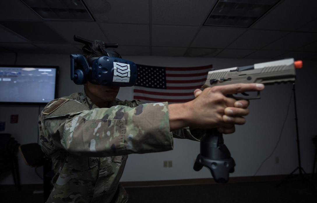 Travis security forces revolutionize training with VR capabilities