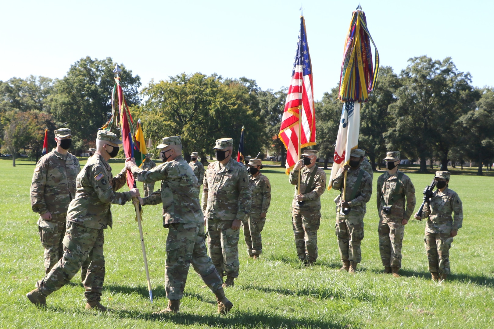 Rhodes succeeds Epperly as 29th Infantry Division commander