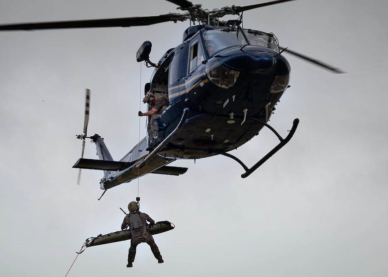 475th EABS performs medical evacuation training exercise