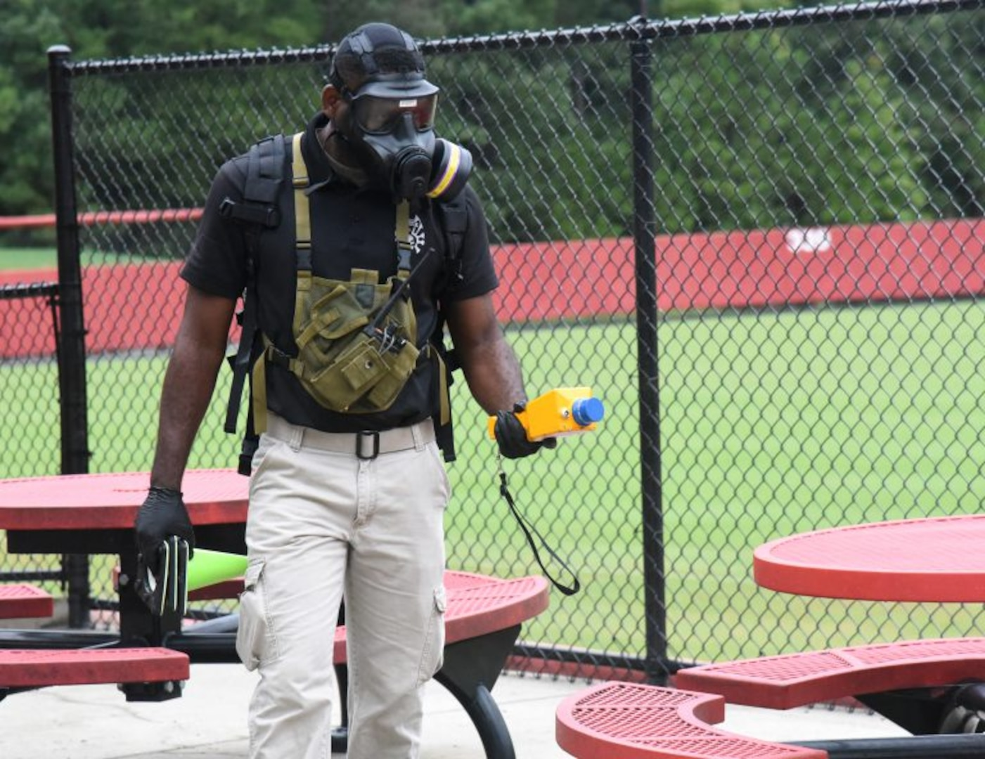 34th CST conducts training with federal, state and local first responders