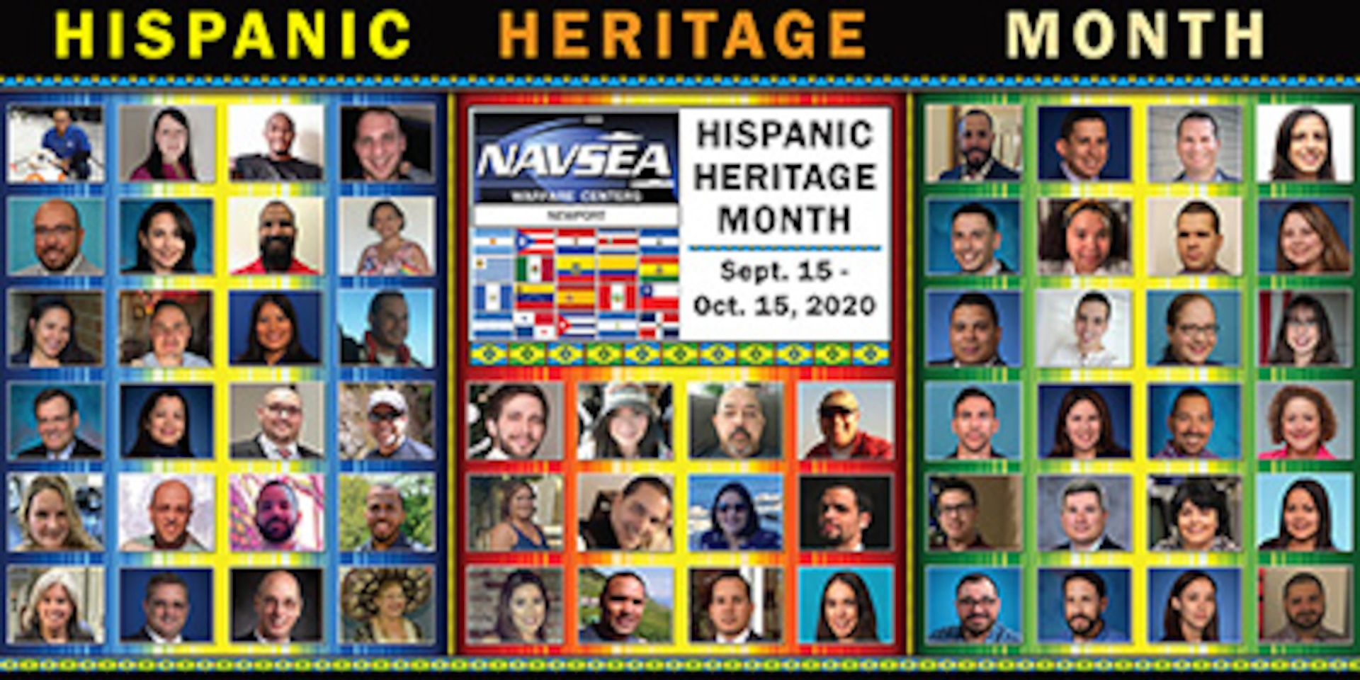 NUWC Division Newport celebrates Hispanic Heritage Month with video, online events