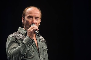 Country music performer Lee Greenwood in 2016.