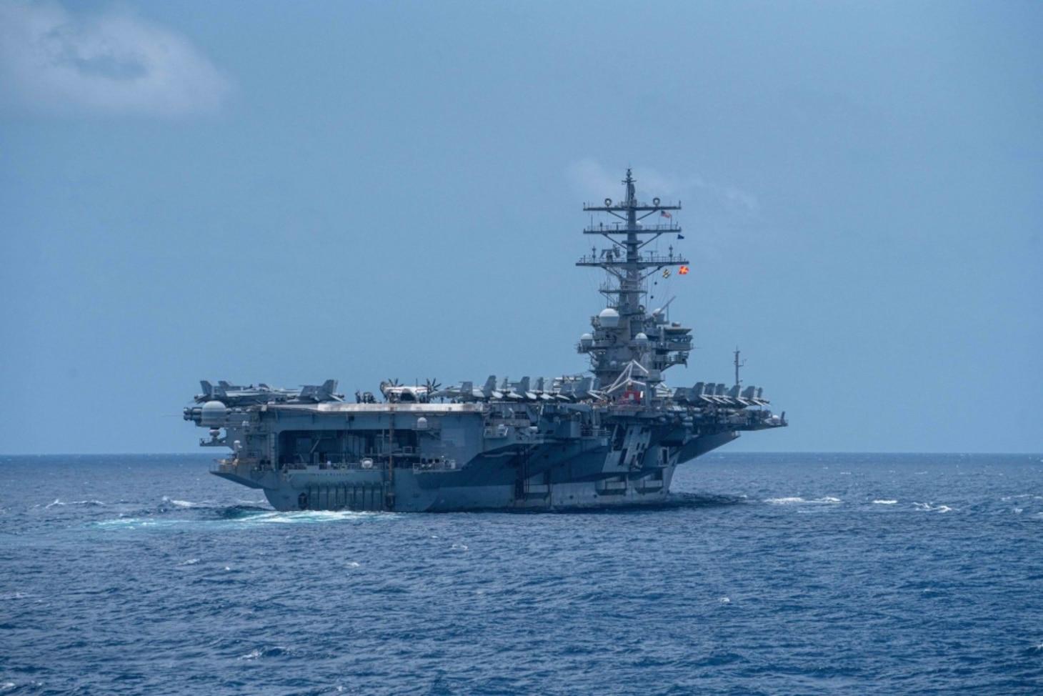U.S Navy • Aircraft Carrier • USS Ronald Reagan • Flight Operations • Indian Ocean