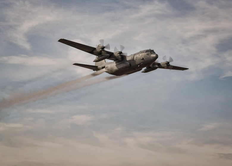 Reserve Citizen Airmen from Youngstown Air Reserve Station, Ohio, traveled to Mountain Home AFB to conduct aerial spray operations to combat the growth of cheatgrass, an invasive winter annual.