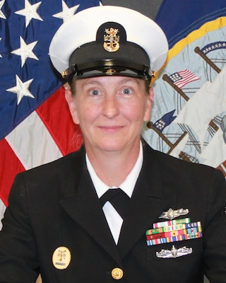 Command Master Chief Joanne Gibson