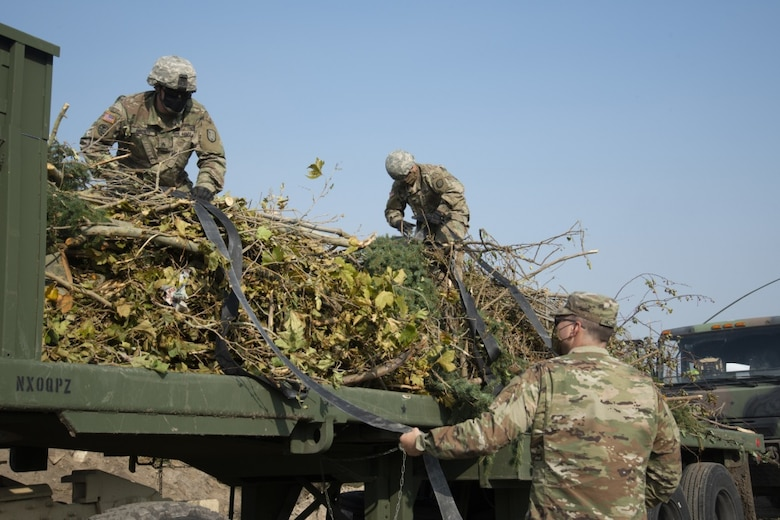 Under the direction of Gov. Gary R. Herbert, approximately 10 service members of the Utah National Guard will support Salt Lake City with debris cleanup efforts after hurricane-level winds tore through northern Utah in early September.